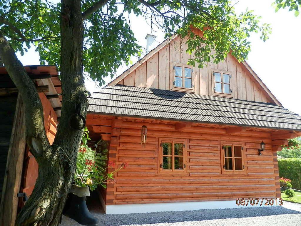 ♥ LIPTOVSKÁ DREVENICA  s drevenou kúpacou kaďou (voda 38-40 st.C) ♥ blízko Jasná CHOPOK a aquapark TATRALANDIA